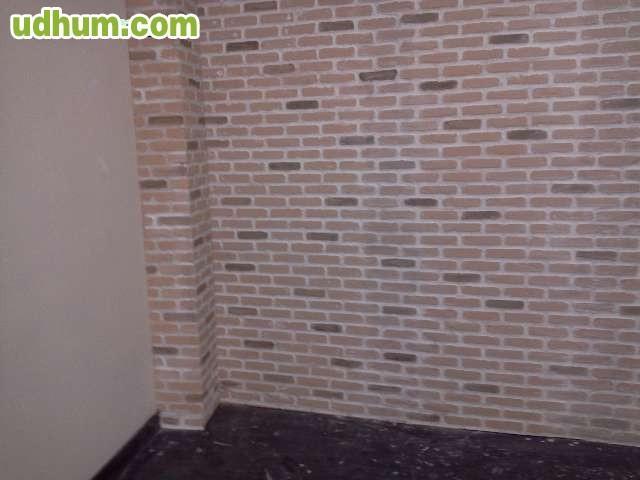 Paneles decorativos poliuretano ladrillo - Placas imitacion ladrillo ...