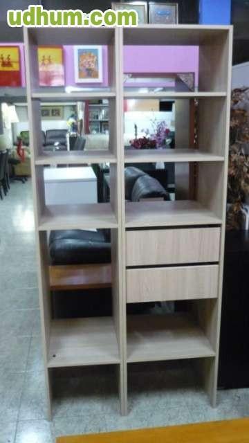 Mueble auxiliar con estantes - Muebles con estantes ...