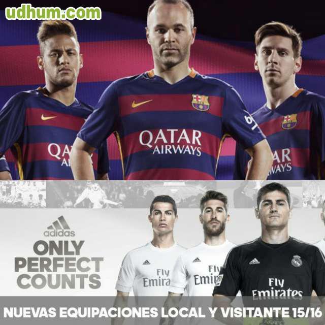 equipaciones futbol replicas exactas