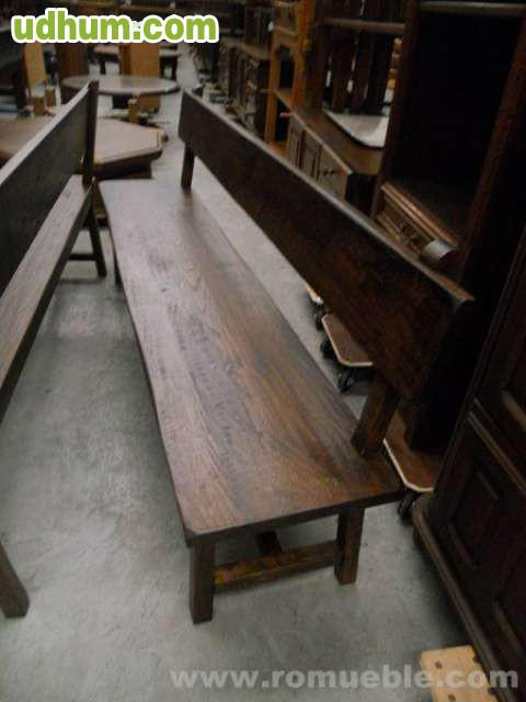 Muebles rusticos de roble para casas, bodegas, chocos, restaurantes