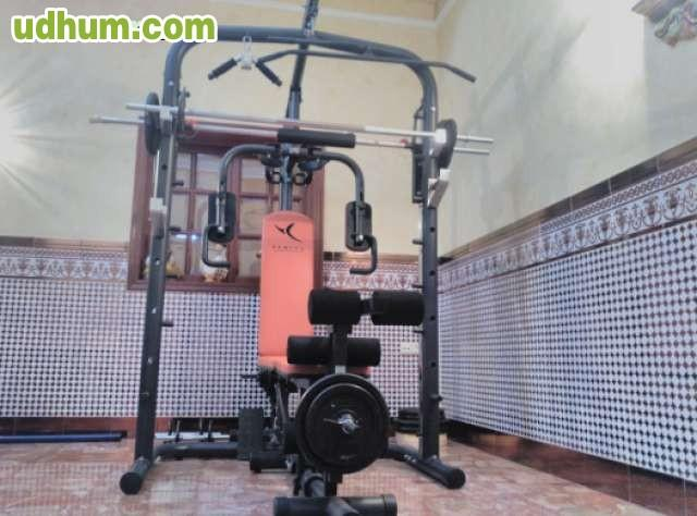 M quina de musculaci n domyos bm900 for Maquinas de musculacion