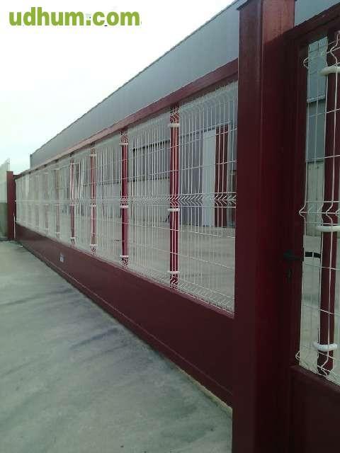 Puertas de malla hierro cercados - Mallas de hierro ...