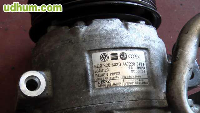 compresor aire acondicionado golf tdi: