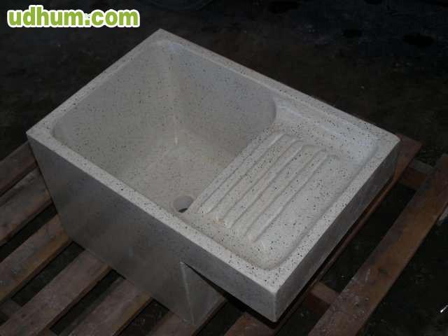 Lavaderos fregaderos y pilas de granito for Lavadero de granito