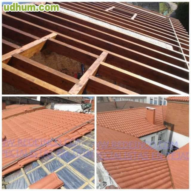 Estructuras de madera canalones y tejado - Estructura tejado madera ...