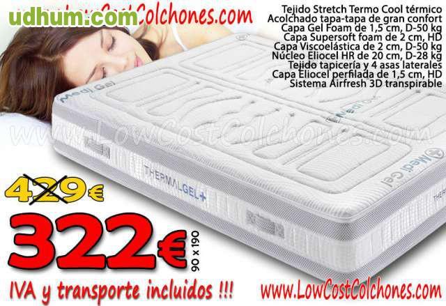 Colchones somiers y canapes lowcost - Colchones venta online ...