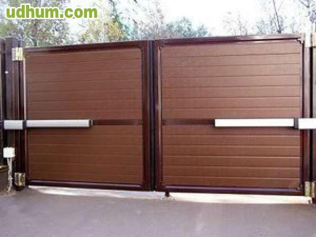 Automatismos para puertas 1 - Automatismo puerta basculante ...