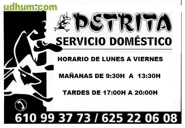 Contrato Empleada De Hogar Agencia Servicio Domestico