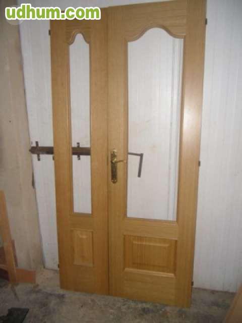 puertas artesanales de roble 1