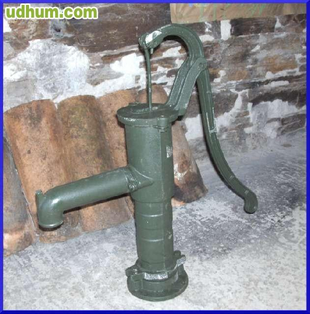 Bomba de agua manual hierro fundido - Bomba manual de agua ...