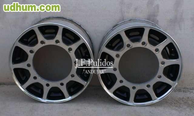 Pulido de llantas aluminio para camion - Pulir llantas de aluminio a espejo ...