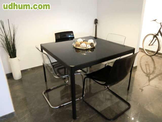 Mesas Y Sillas Comedor Ikea 2. Simple Silla Tapizada New York Marrn ...