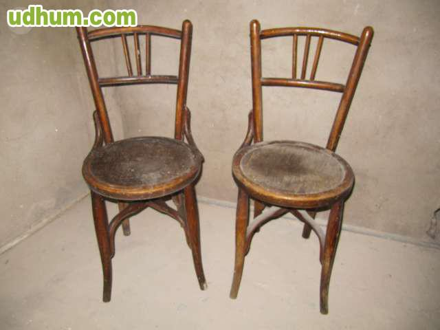 2 sillas antiguas para restaurar - Sillas para restaurar ...