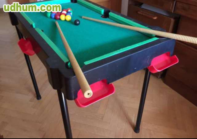 Mini mesa de billar de juguete for Mesa de billar para ninos