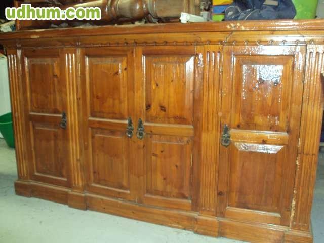 Bar de madera 1 for Bar madera sevilla