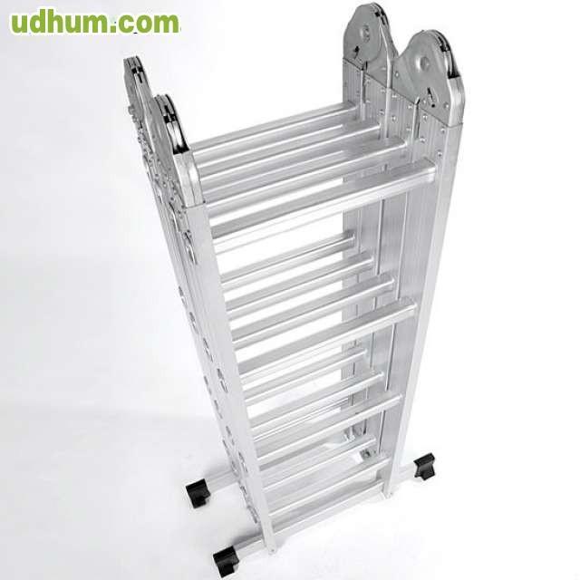 Escalera aluminio extensible herramienta for Escalera de aluminio extensible 9 metros