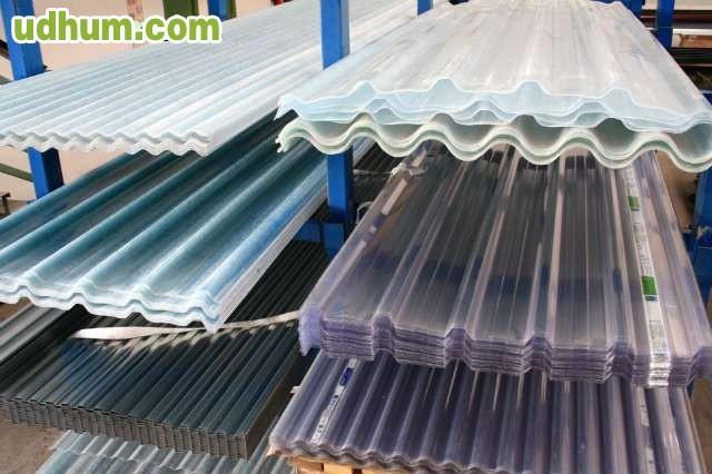 Panel sandwich chapas cubierta fachada for Plastico para tejados