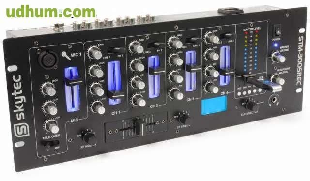 Mesa de mezclas 4 canales 2 for Mesa de mezclas fonestar