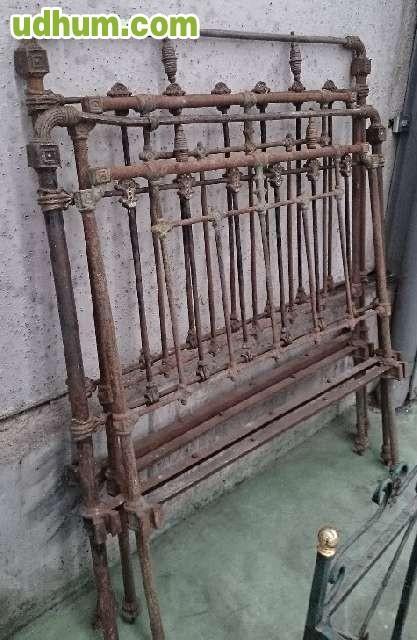 Cabeceros tapizados madera forja - Cabeceros de forja antiguos ...