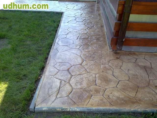 Pavimento de hormigon impreso 81 for Pavimento de hormigon tarragona