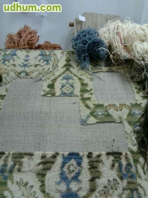 Restauraci n y limpieza de alfombras for Restauracion alfombras persas