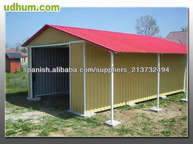 Casetas de jardin y covertizos metalicos for Casetas prefabricadas para jardin