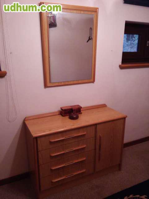 Dormitorio completo armario mesillas for Dormitorio completo con armario