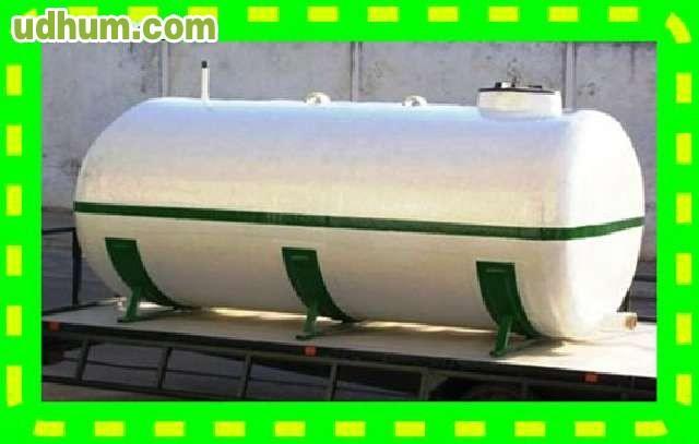 Cisterna o cuba de poliester para regar for Piscina 6500 litros