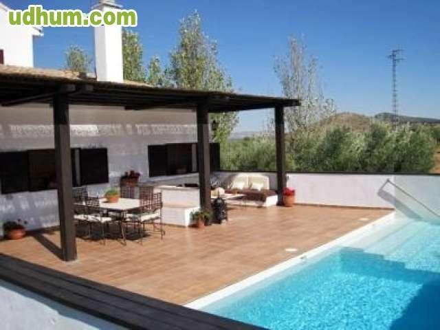Casa rural con pista de padel y piscina for Casas rurales en asturias con piscina