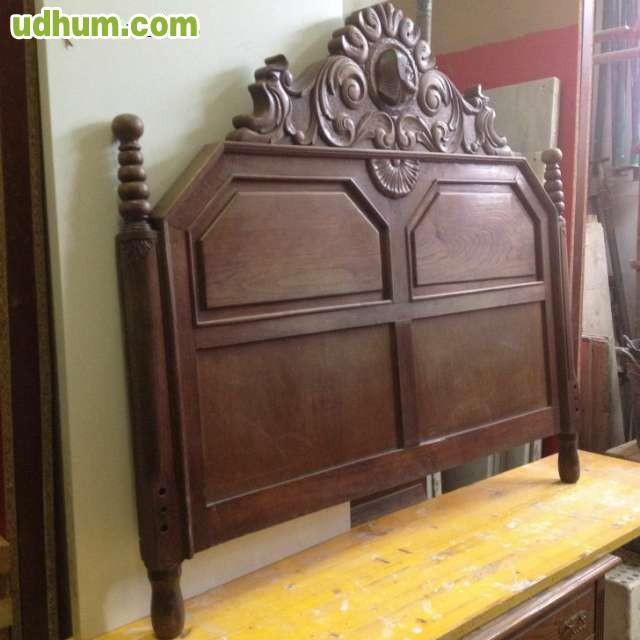 Mueble cabecero cama casta o antiguo - Cabeceros de cama antiguos ...