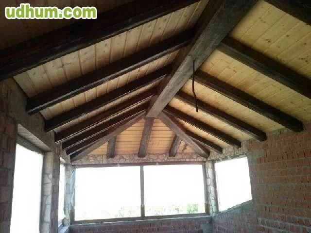 Vigas y paneles imitacion a madera 1 - Paneles imitacion madera ...
