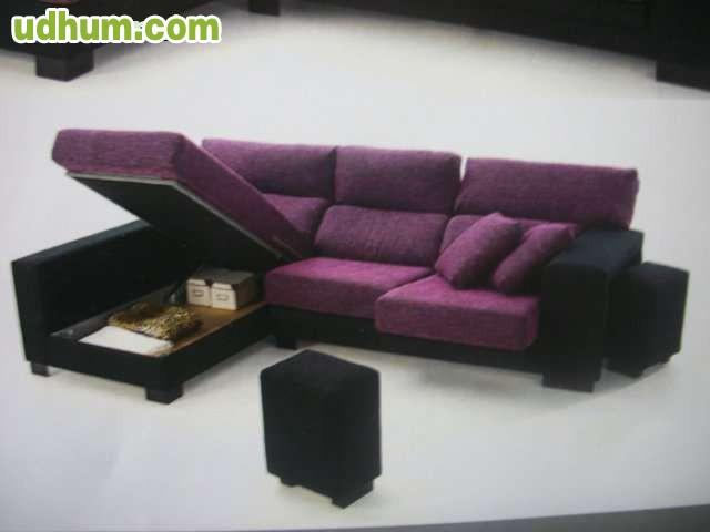 Sofa chaise long de 275 for Canape abatible 75