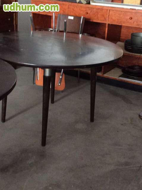 Mesas en madera color wengue - Mesas color wengue ...