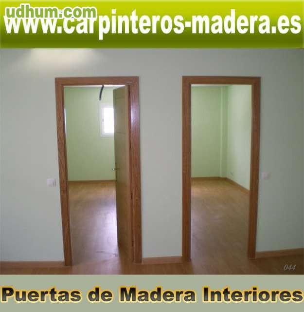 Puertas de madera interiores 2 for Puertas de madera interiores baratas