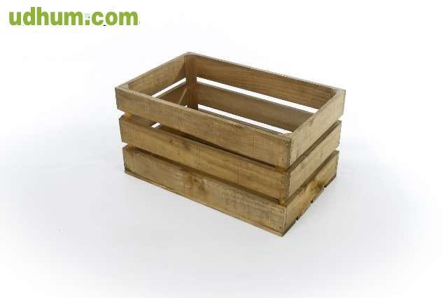 Cajas de madera envejecida - Caja de madera de fruta ...