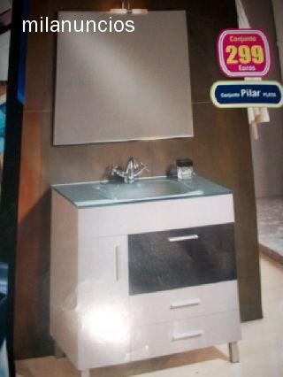 Liquidacion de muebles de ba o 290 euros for Liquidacion muebles de bano