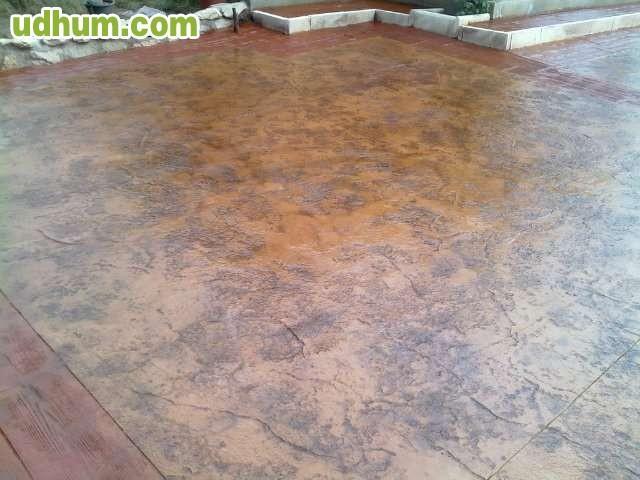 Suelos de pavimento impreso for Suelo hormigon fratasado