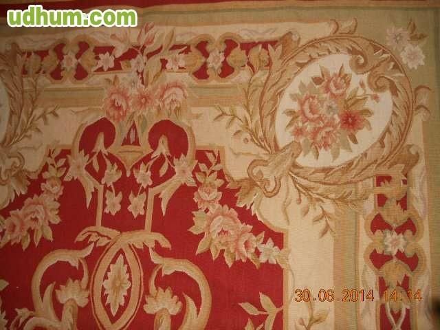 Alfombra oriental aubuson de 240x146 for Alfombra 3x4