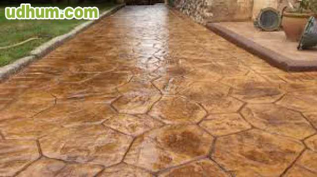 Pavimento de hormigon impreso decorativo 1 for Pavimento de hormigon tarragona