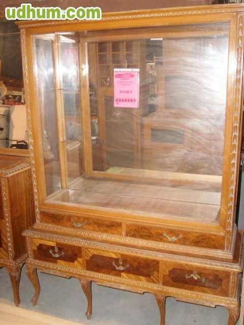 Vitrina antigua taracea for Milanuncios muebles granada
