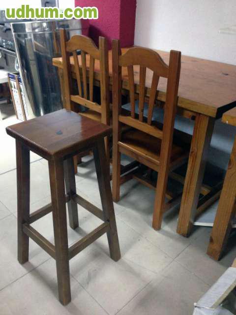 Sillas y mesas rusticas 1 for Mesas y sillas rusticas