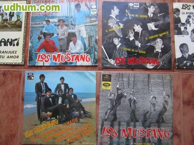 los mustang a209os 60 vinilos ep 45 rpm