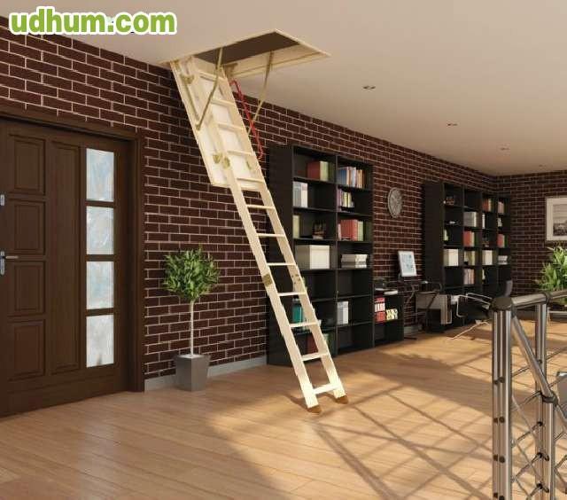 Escaleras de buhardilla - Escalera de buhardilla ...