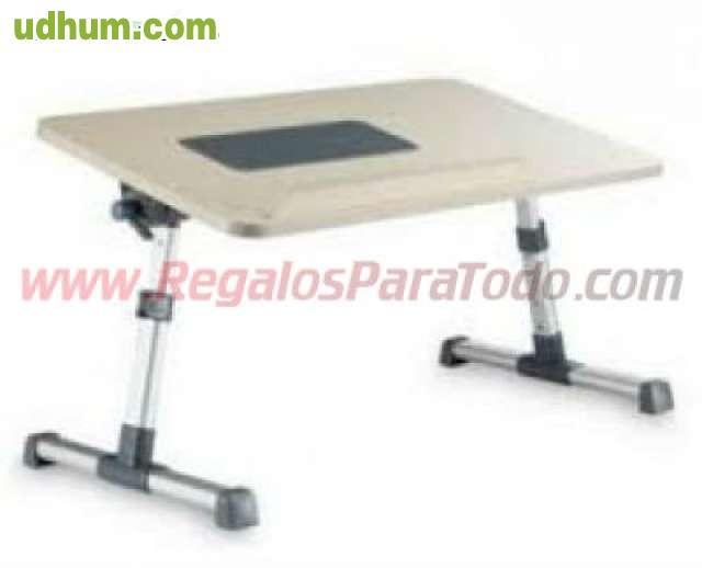 Mesa ordenador portatil con ventilador - Mesa para ordenador portatil ...
