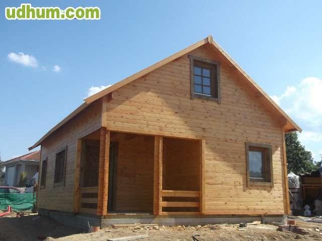 Casa de madera con buhardilla - Casas con buhardilla ...