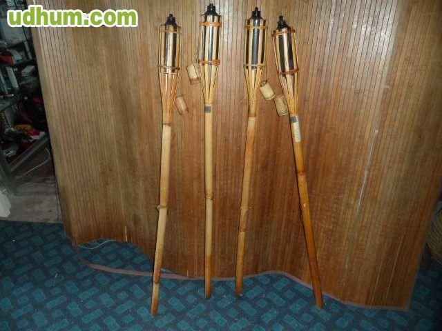 Antorchas jardin bambu for Antorchas jardin