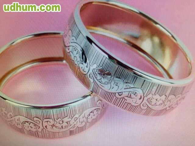 Pulseras anillos collares todo de rodio for Anillos de rodio precio