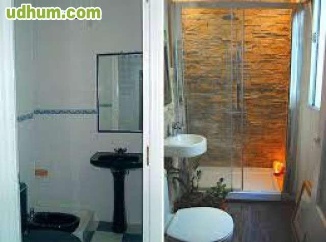 Reforma Baño Caravana:quitamos los azulejos, cambiamos la fontanería, alicatamos el baño