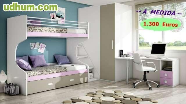 A medida dormitorios juveniles for Dormitorios juveniles a medida