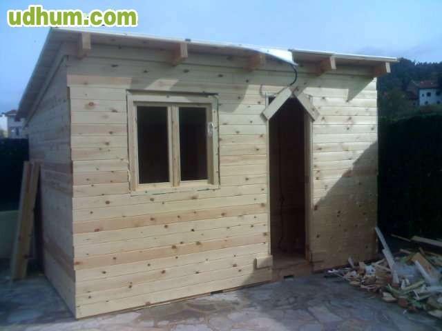 Estructuras y casetas de jardin serimoca for Estructuras de jardin